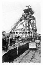 pt4247 - Atherton Collieries Pit Head Gear , Lancashire - photo 6x4