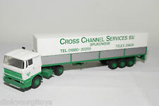 LION CAR DAF 2800 TRUCK WITH TRAILER CCS CROSS CHANNEL SERVICES BV NEAR MINT