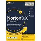 Norton Symantec 360 Premium 100GB Storage VPN included - 10 Device 1, 2, 3 Year