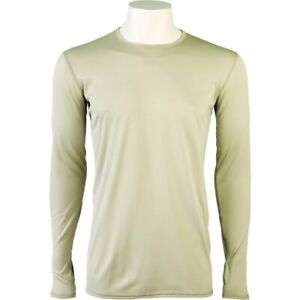 GEN III Cold Weather Light-Weight Undershirt - ECWCS Level 1 Small - Regular