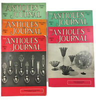 Lot Of 5 Antiques Journal Magazines 1965 And 1966 Vintage Collecting Primitives