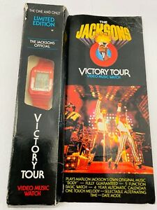 Original 1984 MICHAEL JACKSON The Jacksons Victory Tour Limited Edition Watches