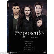 SAGA CREPUSCULO AMANECER DVD NUEVO ( SIN ABRIR ) LUNA NUEVA ECLIPSE 10 DISCOS