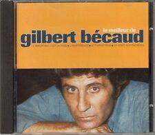 """CD ALBUM GILBERT BECAUD """"LE MEILLEUR DE GILBERT BECAUD"""""""