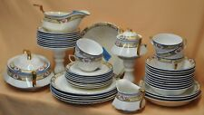Vintage Antique Limoges 47 Pieces Dinnerware Set