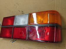 VOLVO 240 85-93 1985-1993 TAIL LIGHT PASSENGER RH RIGHT w/ BLACK TRIM BRIGHT