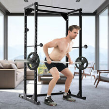 Adjustable Dumbbell Rack Cage Chin up Squat Stand Fitness Strength Traning Gym