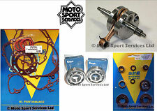 KX 85 2006 Mitaka Bottom End Engine Rebuild Kit Crank Mains Gasket Seal Kit