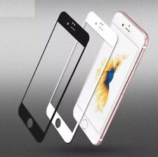 White Full Cover Tempered Glass 3D Curved Screen Protector For iPhone 6 6s