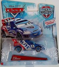 2014 Disney Cars Die Cast Ice Racers Raoul CaRoule Special Icy Edition NEW
