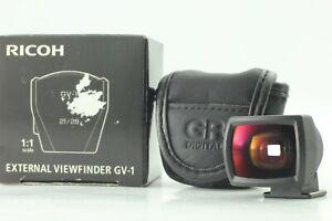 【N Mint 】 Ricoh GV-1 External Viewfinder 21mm 28mm for GR GRD2 GRD3 GRD4 Japan