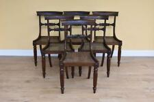 Set of 6 William IV Rosewood Dining Chairs