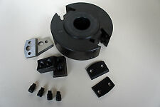 120mm Dia 40mm wide 30mm Bore EURO Spindle Cutter Block CUTTERS & LIMITERS 12040