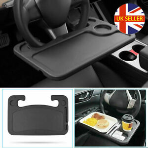 Steering Wheel Car Table Tray For Laptop Food Dining Writing Reading Holders