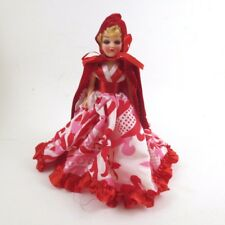 Vintage Story Book Doll Little Red Riding Hood Mail Order 7 In Hard Plastic 60s