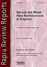 Natural Wood and Fibre Reinforcement in Polymers Vol. 13 by O. Faruk, A. K....