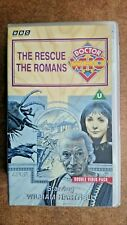 Doctor Who - The Rescue/The Romans (VHS, 1994, 2-Tape Set) - William Hartnell