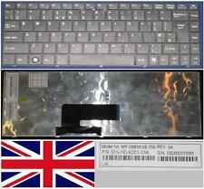 TECLADO QWERTY UK MSI X300 X340 X400 MP-09B56GB-359 S1N-1EUK2D1-C54 Negro