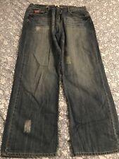 Mens Jeans 40 Waist 33 Leg