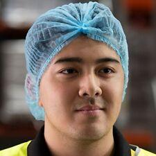 100 PCS  Hair Net Cap Disposable Non Woven Hair Net Crimped Beret - Free postage