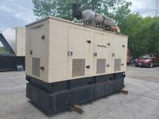 Tested 175 KW Diesel Generator Generac Enclosed Base Tank 480V Hino EK130 LowHRS