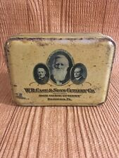 Case Knife Tin Box metal container *no knife*