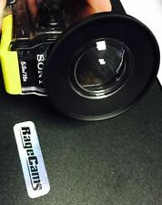 FILTER ADAPTER RING ACCESSORY 52MM FOR SONY HDR-AS100V WATERPROOF CAMERA CASE