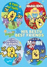 Wubbzy and His Besty Best Friends 4-Pack [New DVD] Boxed Set