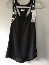 Souluxe Racer Back Top Black size S
