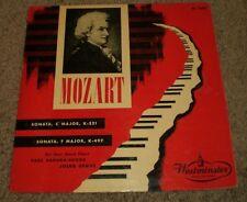 Mozart Sonata C Major F Four Hand Piano Badura-Skoda Demus~1951 Press~WL 5082