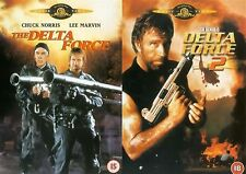 DELTA FORCE COMPLETE COLLECTION PART 1 2 (2000) Chuck Norris NEW UK R2 DVD
