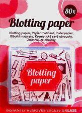80x Blotting paper puderpapier mit Spiegel   80Blätter Make-up  papermakeup