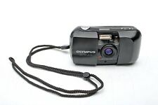 Olympus Infinity Stylus Epic 35mm f3.5 Stealth Black+QD Date camera+Strap+Tested