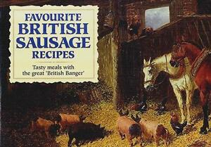 Favourite British Sausage Recipes  :   by J Salmon  : Paperback