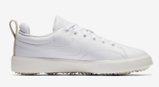 Nike Course Classic Leather Golf Shoes White Waterproof 904680-100 Womens 9.5