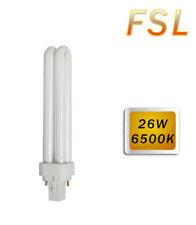 Lampadina 26 w fluorescente plc g24 compatta fredda 6500k bulbo lampada g24d