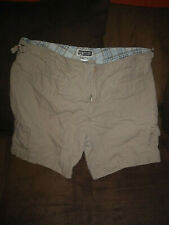 womens route 66 shorts size 15/16 tan