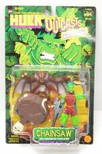Chainsaw Toy Biz Hulk Outcasts Animated Cartoon Series action figure NIP