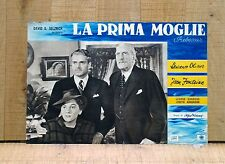 LA PRIMA MOGLIE REBECCA fotobusta poster Laurence Olivier Fontaine Hitchcock A75