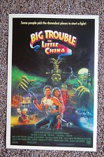 Big Trouble in Little China Lobby Card Movie Poster #2 Jack Burton