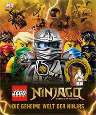 Fachbuch LEGO® Ninjago™, Die geheime Welt der Ninjas, inklusive Minifigur, NEU