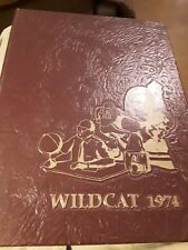 1974 Pearl River Jr. College Wildcats Yearbook, Poplarville MS