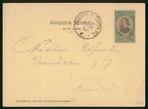 MayfairStamps Argentina Santa Fe 1901 Cover wwp62281