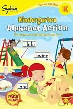 Kindergarten Alphabet Action (Sylvan Fun on the Run Series) (Fun on the Run Lang
