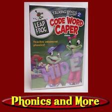 Leap Frog: Talking Words Factory: Code Word Caper Dvd - Phonics - Factory Sealed