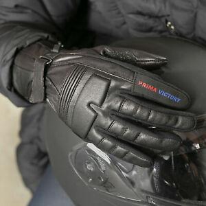 Motorbike motorcycle Ladies gloves.Ladies bikers gloves leather gloves Winter