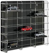 Sora modelo auto vitrina 1:43 con negro plano posterior para 18 maquetas de coches