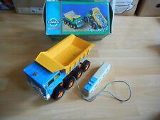 Gama Mechanik Faun Dump Truck in Blue/Yellow in Box