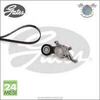 Kit cinghia servizi con tenditore Gates VW PASSAT (3C5) PASSAT (3C2) JETTA III