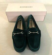 JUSTFAB Women's Flats Camiri Green Shoes Size 9 @
